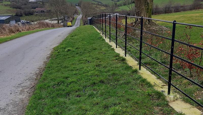 Estate Fencing by Clare Engineering (Cavan) Ltd.