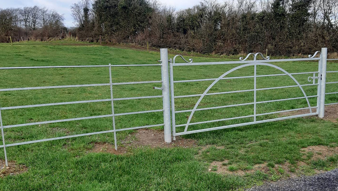 Estate Fencing and Field Gate