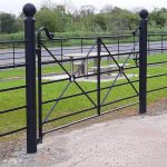 estate fencing and gate