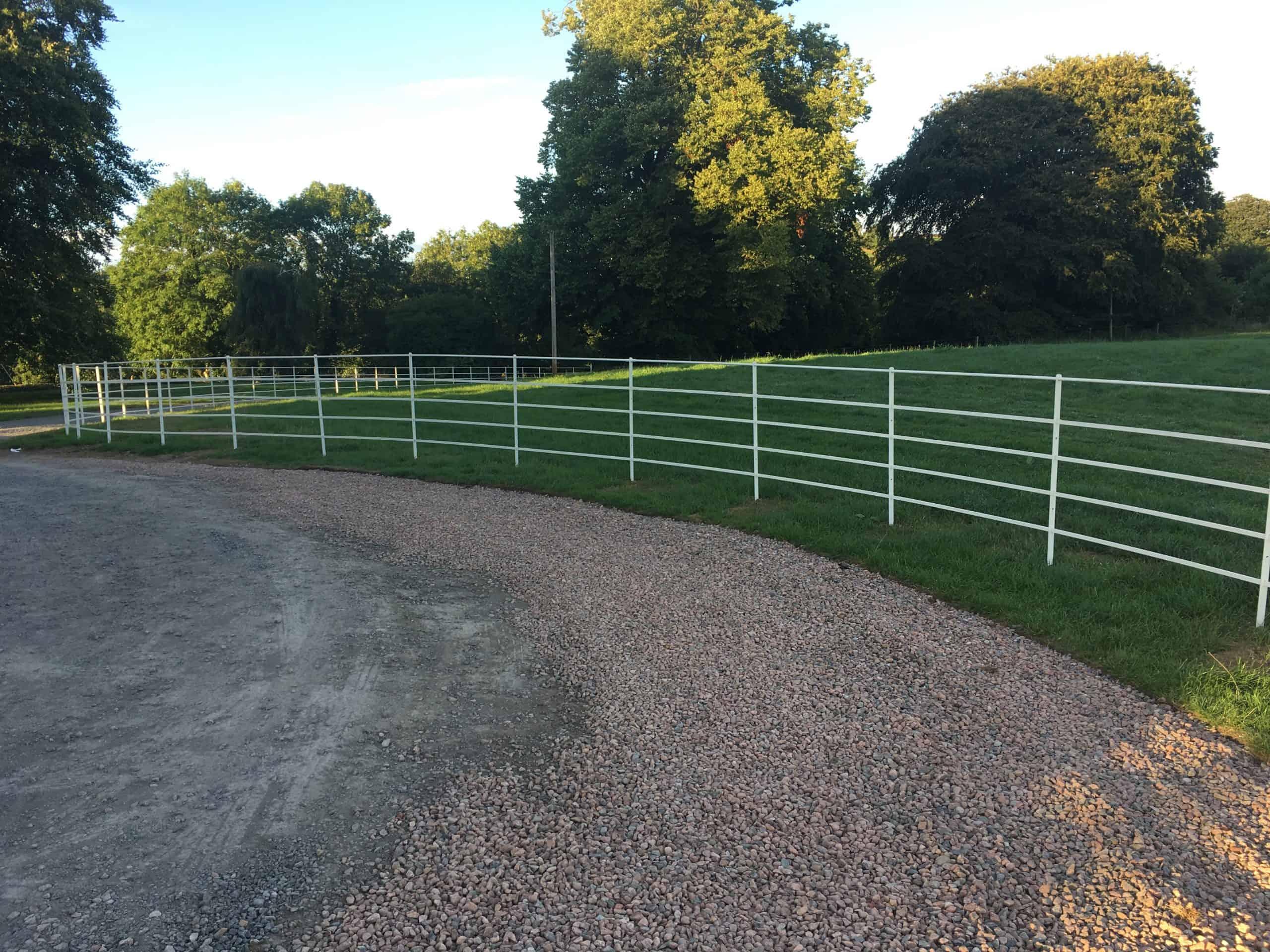 Estate Fencing Ireland