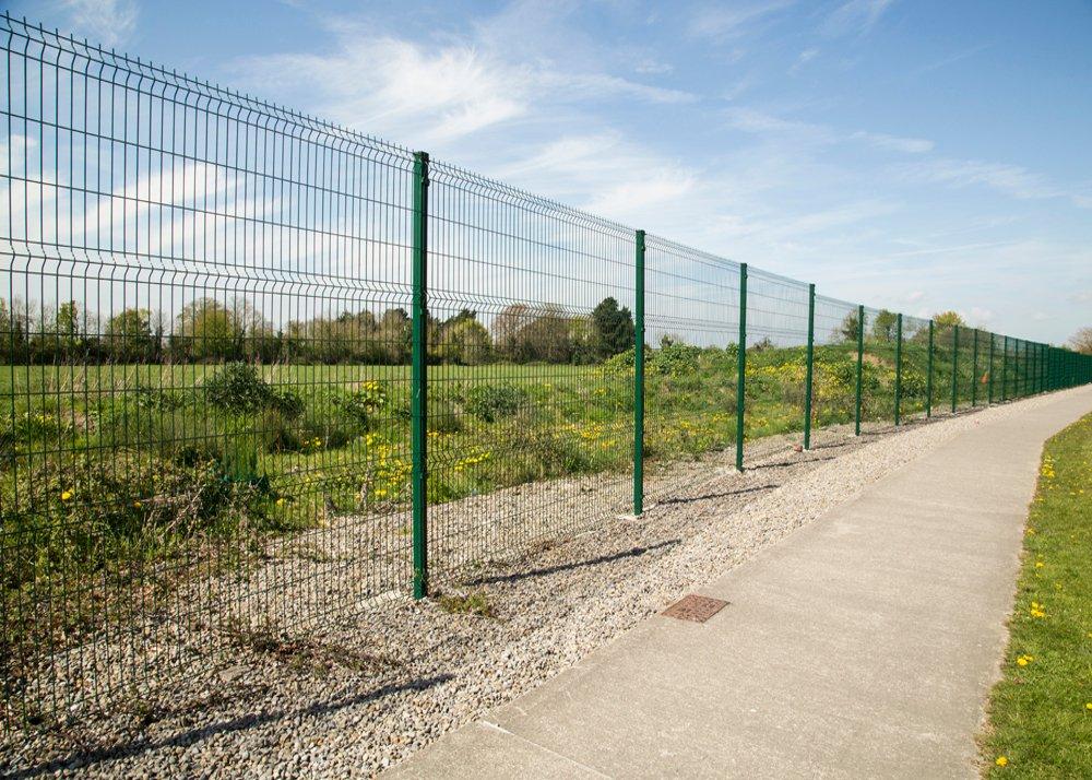 Mesh Panel Fencing in Cavan